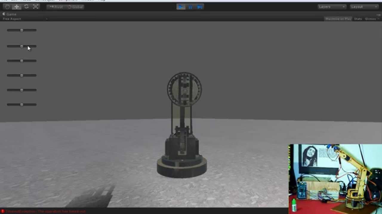 Brazo robótico arduino y unity d youtube