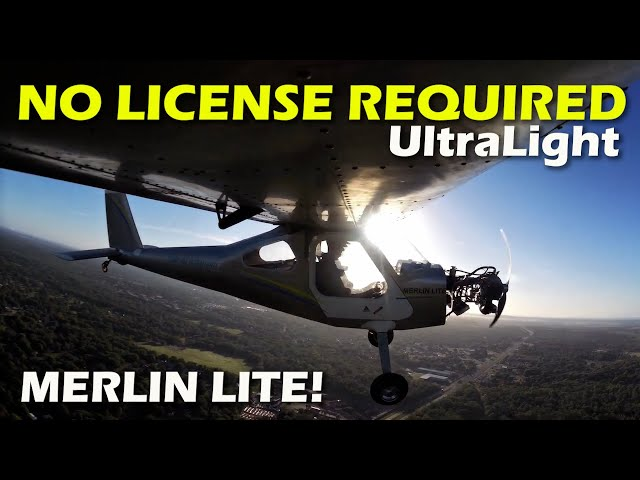 Merlin Lite Part 103 Legal All Metal Ultralight Aircraft Affordable Airplane