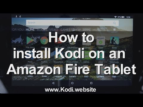 How to Install Kodi on an Amazon Fire Tablet