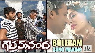 Gautham Nanda - Boleram song making - idlebrain.com