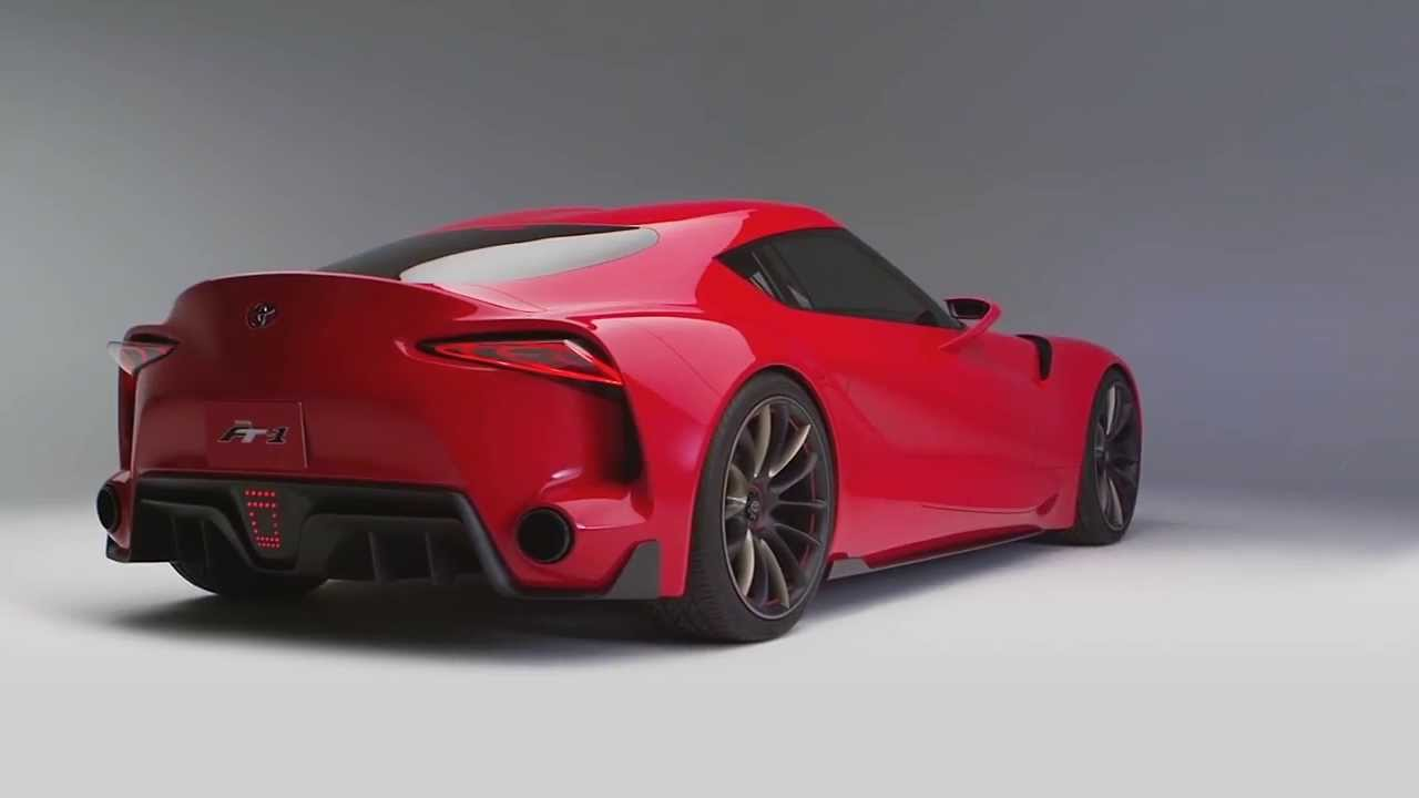 Awesome 2014 NAIAS   Toyota FT 1   Sports Car Concept