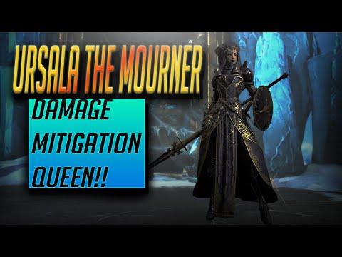 Ursala the Mourner Guide -MITIGATION QUEEN!!   RAID Shadow Legends