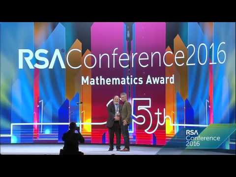Excellence in the Field of Mathematics - RSA Conference 2016 Award