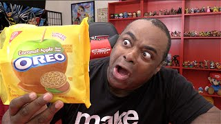 Caramel Apple Oreo! [taste Test]