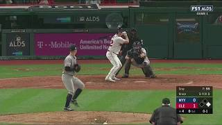 Jay Bruce 2-Run Homerun vs Yankees | Indians vs Yankees Game 1 ALDS