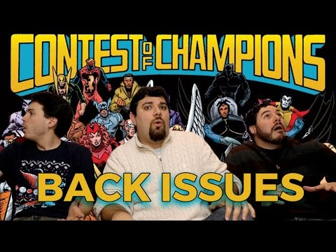 MARVEL SUPER HERO CONTEST OF CHAMPIONS | Back Issues