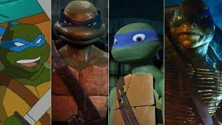 Эволюция Леонардо в мультфильмах и кино