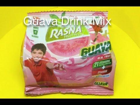 Rasna Fruit+ Guava Drink Mix