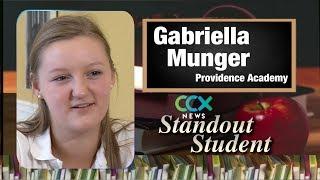 Standout Student: Providence's Gabriella Munger