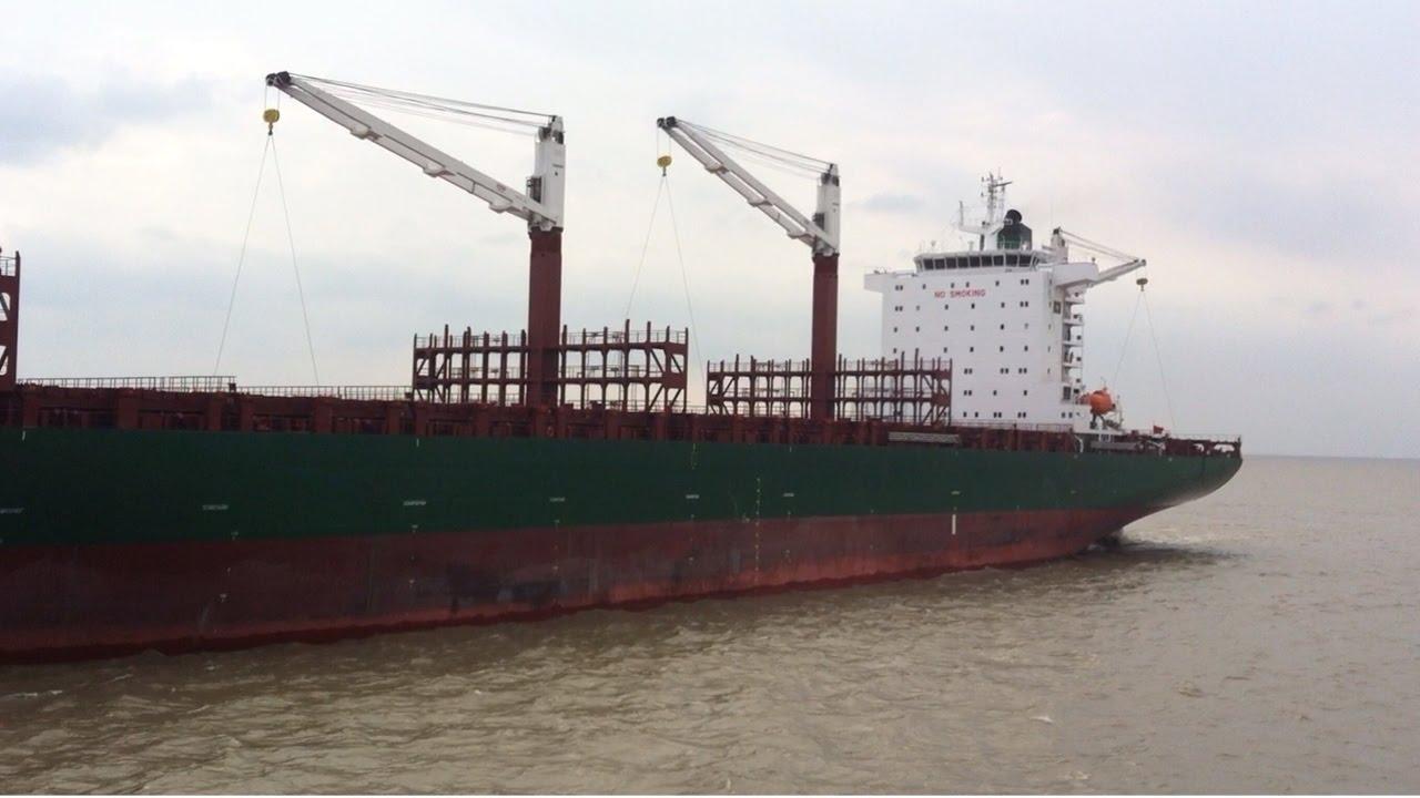 Launching Martha Schulte 3600 TEU Container Ship