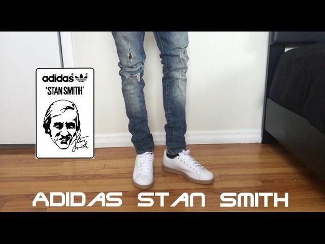 ¡Como el estilo de Adidas Stan Smith Review w / a pie!