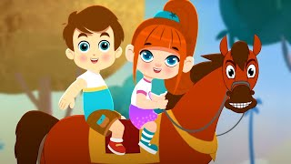 लकड़ी की काठी Lakadi Ki Kathi | Popular Hindi Kids Songs | Children' Songs in Hindi | Nursery Rhymes