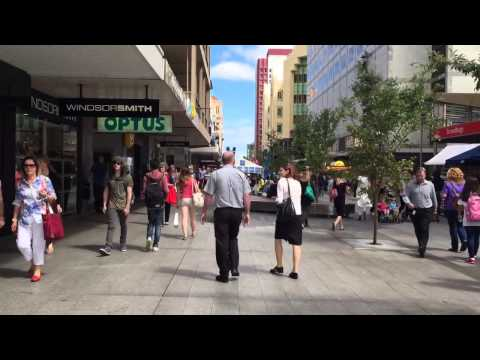 A Walk Through Rundle Mall, Adelaide, Australia