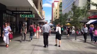 A Walk Through Rundle Mall, Adelaide, Australia