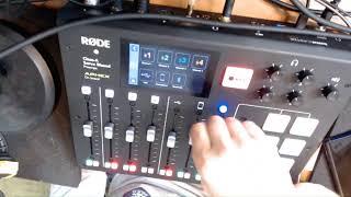 Próba RodeCaster Pro oraz mikrofonu Podmic