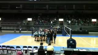 2012 AIA Volleyball State Champions--Tuba City High School