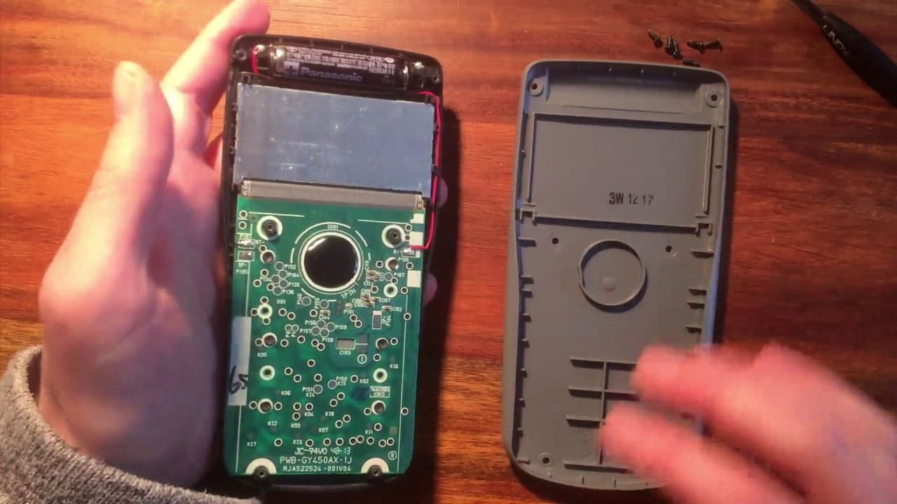 Changing A AAA Battery On A Casio Calculator