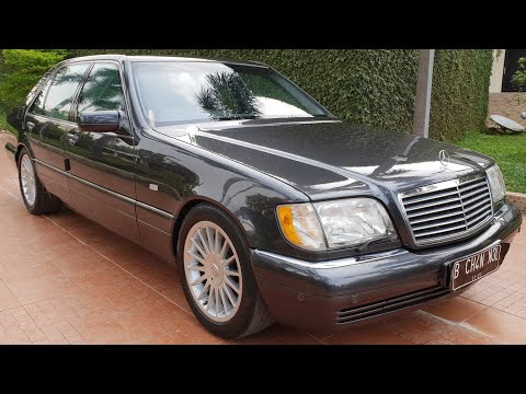In Depth Tour Mercedes Benz S500 [W140] Facelift (1997) - Indonesia