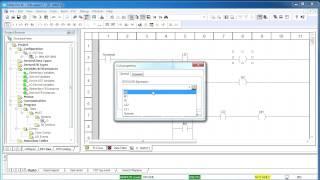 Программирование промышленных контроллеров Modicon M340 на языке LD в среде UNITY PRO