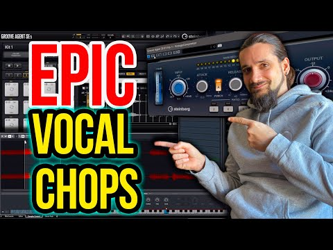 How to create VOCAL CHOPS in Cubase- Two awesome techniques!