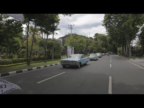 Bali Antique Car Community, promoting Bali is Safe campaign