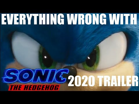 EVERYTHING WRONG WITH Sonic The Hedgehog (2020) New Official Trailer