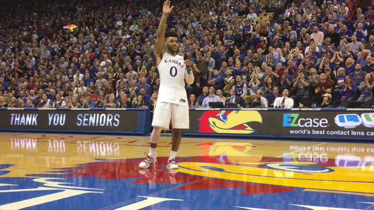 After back-to-back Elite Eight exits, Bill Self, Devonte' Graham and Kansas ...