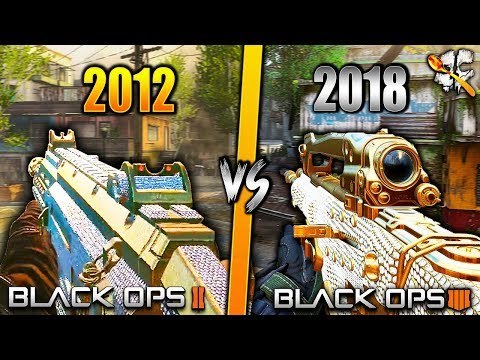 Evolution of DIAMOND Camo (BO2 Diamond Camo vs BO4 Diamond Camo)