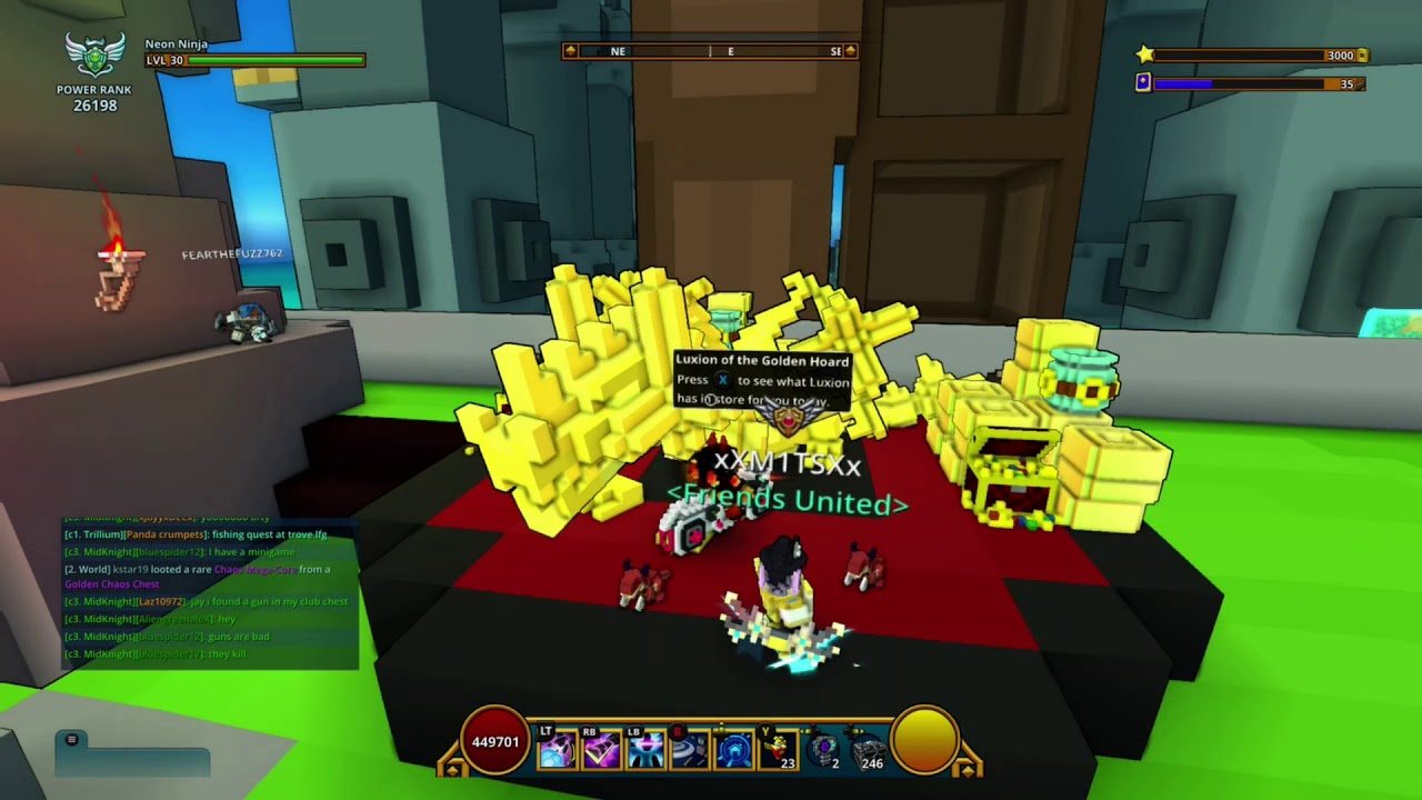 gold dragons trove