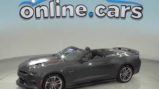 A99071LT Certified 2017 Chevrolet Camaro SS RWD 2D Convertible Gray Test Drive, Review, For Sale