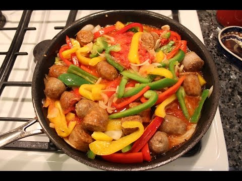 Sausage and Peppers Recipe - OrsaraRecipes