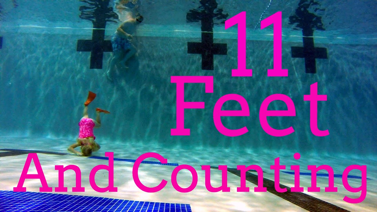 Water Board Sports >> Elizabeth Dives down 11 feet and counting. - YouTube