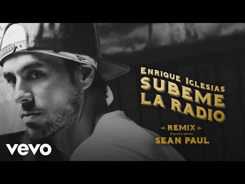 Enrique Iglesias - SUBEME LA RADIO REMIX Lyric  ft Sean Paul