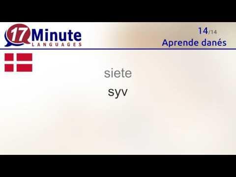 Aprende danés de forma gratuita con nuestro nuevo formato en vídeo.