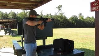 ruger ar 556 at the range