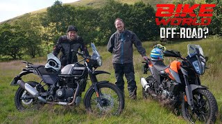 Bike World OffRoad with KTM 390 Adventure vs Royal Enfield Himalayan
