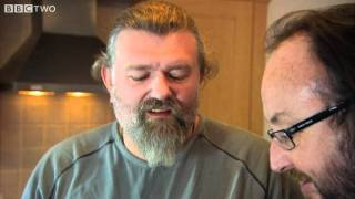 Pastry King Brett Pistorius - The Hairy Bikers' Christmas Party - BBC Two
