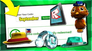 *SEPTEMBER* ALL WORKING PROMO CODES ON ROBLOX 2019| PHILIPPINES FEDORA (NOT EXPIRED!)
