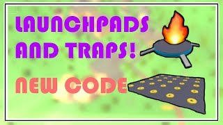 NEW CODE🔥TRAPS AND LAUNCH PAD!? 🔥ISLAND ROYALE🏝️ROBLOX
