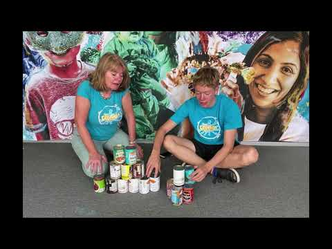GUINNESS WORLD RECORDS top tips from The Creation Station – Most cans stacked into a pyramid.