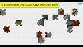 Jigsaw Puzzle Creator PHP Website Script Demo