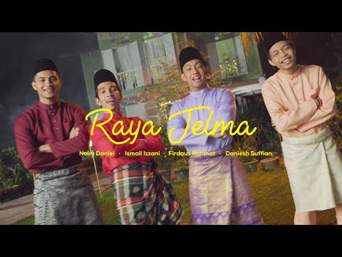 Смотреть клип Ismail Izzani, Naim Daniel, Daniesh Suffian, Firdaus Rahmat - Raya Jelma