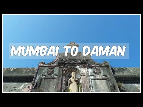 Daman and Diu | Weekend Getaway from Mumbai | Travel Vlog | Beach | Fort | India