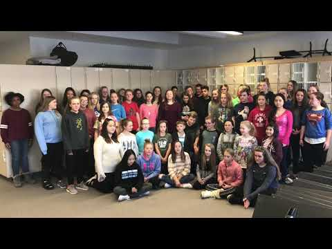 Falcon Bluffs Middle School choir