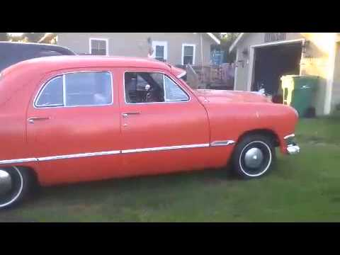 1950 ford custom 4 door youtube for 1950 ford custom 4 door