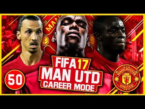 FIFA 17 Career Mode: Manchester United #50 - CHAMPIONS LEAGUE FINAL VS REAL MADRID(FIFA 17 Gameplay)