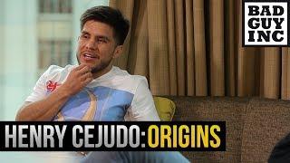 Henry Cejudo's talks coach Terry Brands.