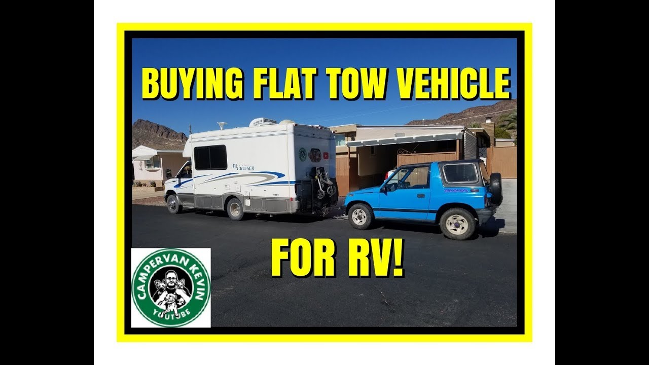 Ing A Flat Tow Vehicle To Pull Behind Rv