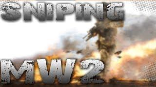 MW2 Ground War Barett 50 Cal - Stream Highlight Gameplay