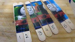 Развивающие игры. Пазлы паровозик Томас и его друзья. Train Thomas puzzle(, 2016-03-21T01:54:45.000Z)